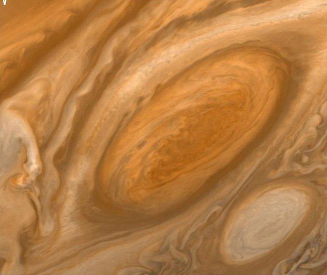 Cơn bão lửa trên Sao Mộc lớn gấp 3 lần kích thước của Trái Đất