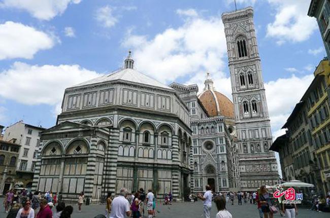 Trung tâm lịch sử của Florence - Italy