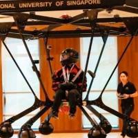 NUS chế tạo thành công drone chở người Snowstorm