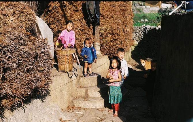 Nắng dát vàng Hà Giang những ngày đầu đông