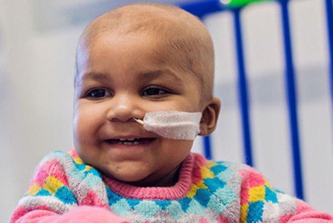 Bé Layla Richards khỏi ung thư máu nhờ gene chỉnh sửa.