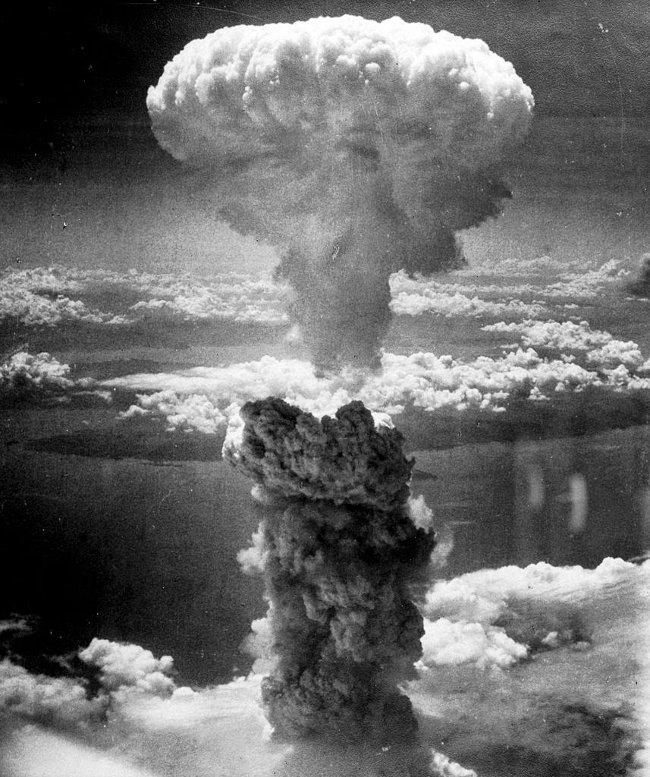 Vụ nổ bom hạt nhân ở Nagasaki vào ngày 9/8/1945.