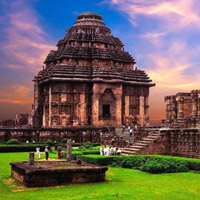 Đền mặt trời Konark, Orissa - Ấn Độ