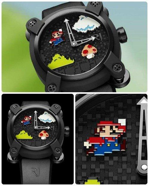 Đồng hồ này nhìn thoáng qua thì rất giống với đồ chơi trẻ em.