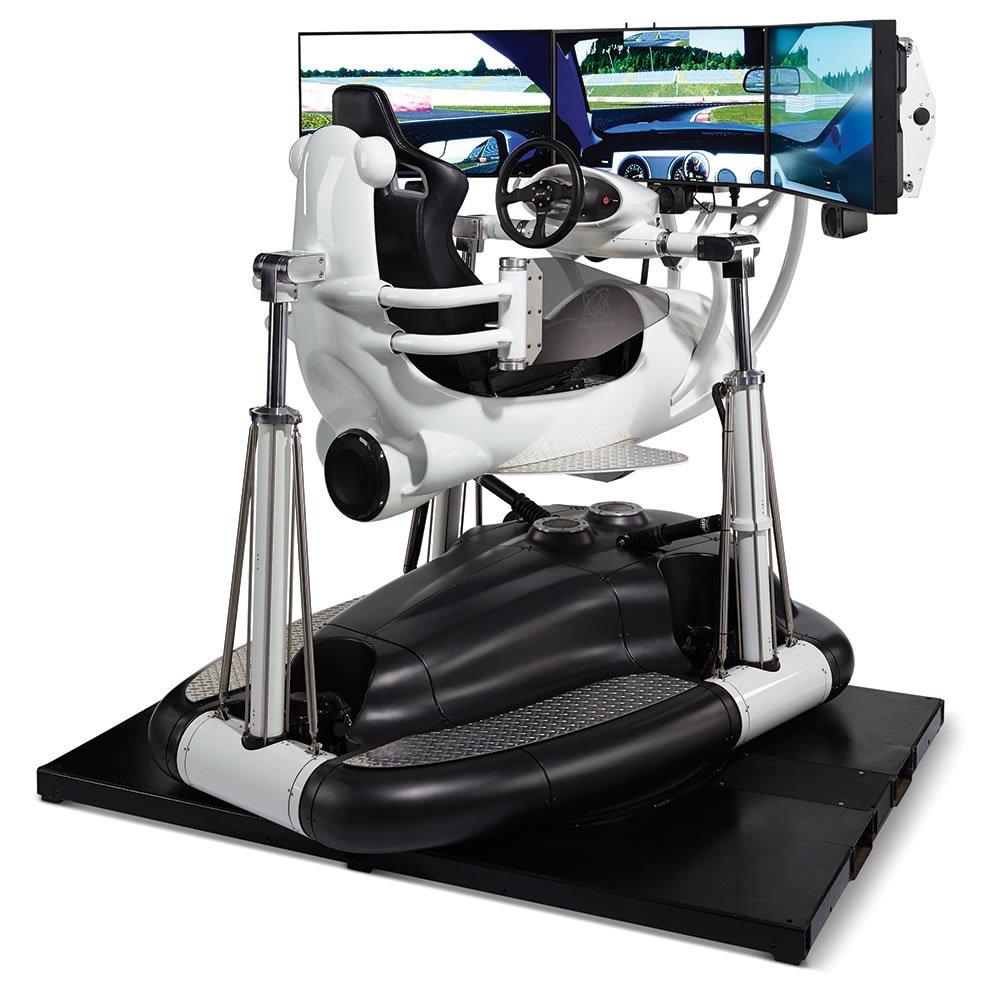 Hệ thống mô phỏng xe đua chân thực nhất