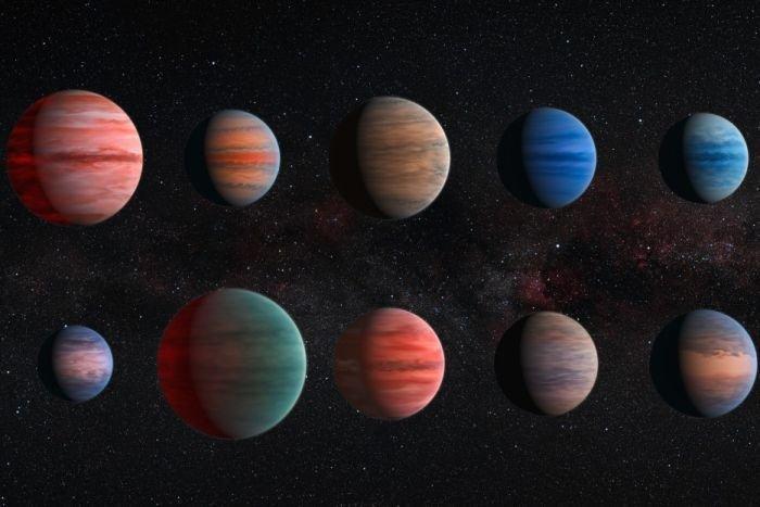 Nhóm hành tinh khí khổng lồ được gọi là sao Mộc nóng.