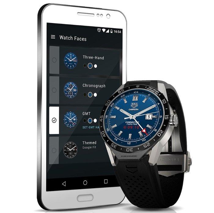 Mẫu smartwatch hạng sang này cũng tương thích tốt với smartphone Android lẫn iOS.