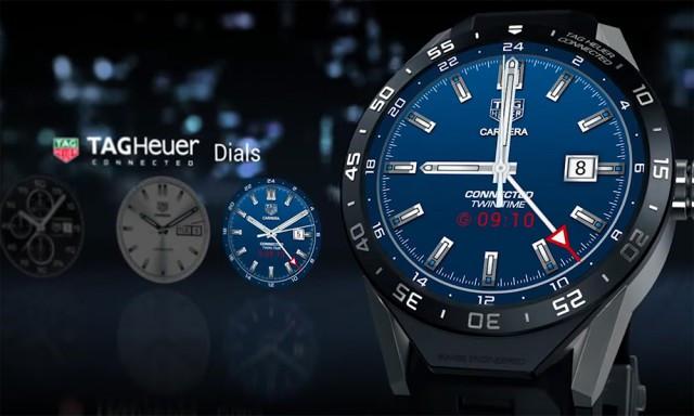 Đây là chiếc smartwatch Android Wear đầu tiên của hãng đồng hồ trứ danh Thụy Sỹ Tag Heuer.