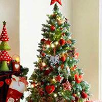 Cách trang trí cây thông Noel