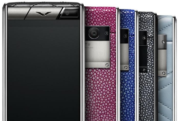 Mẫu điện thoại Vertu Aster Stingray được sản xuất có giới hạn.
