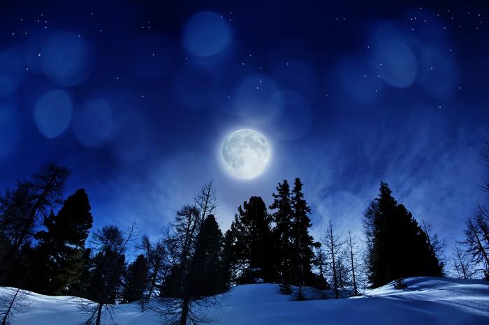 Trăng lạnh sẽ xuất hiện vào dịp Noel 2015.
