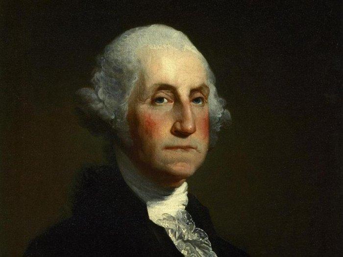Cố tổng thống Mỹ Georgie Washington.