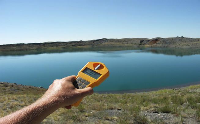 Mức phóng xạ ở nước hồ và khu vực xung quanh vượt quá mức cho phép nhiều lần.