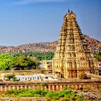 Quần thể kiến trúc tại Hampi - Ấn Độ