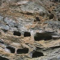 Huyền quan 1200 tuổi trên Hang Tiên ở Trung Quốc
