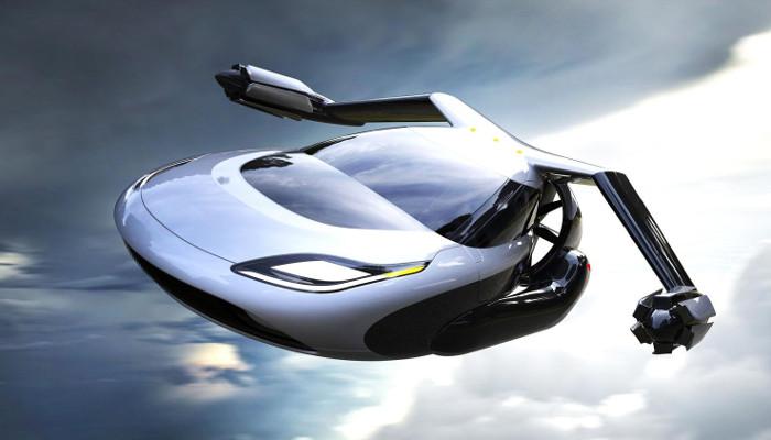 Mẫu xe bay TF-X của Terrafugia ra mắt hồi tháng 7.