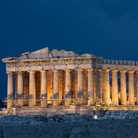 Thành cổ Acropolis tại Athens - Hy Lạp