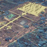 Quần thể tháp bí ẩn bị chôn vùi bên dưới đền Angkor Wat