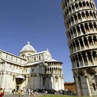 Quần thể Campo dei Miracoli, tháp nghiêng Pisa