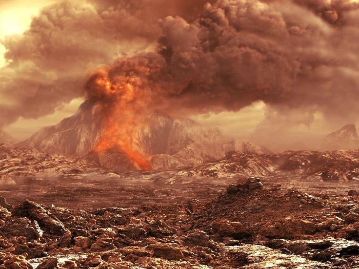 Mỗi giây, Tambora phun khoảng 300-500 triệu kg magma.