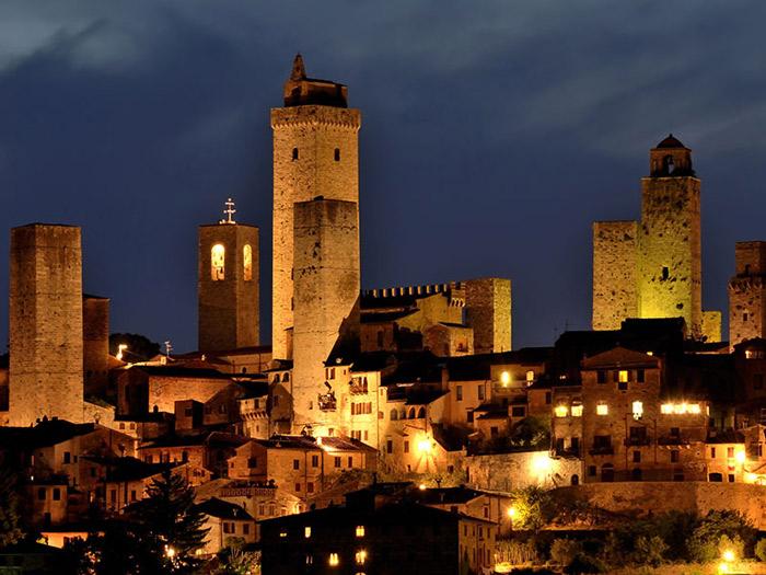 Tổ chức Khoa học, Giáo dục và Văn hóa của Liên hiệp quốc Unesco đã công Trung tâm lịch sử của San Gimignano, nước Ý là Di sản văn hóa thế giới năm 1990.