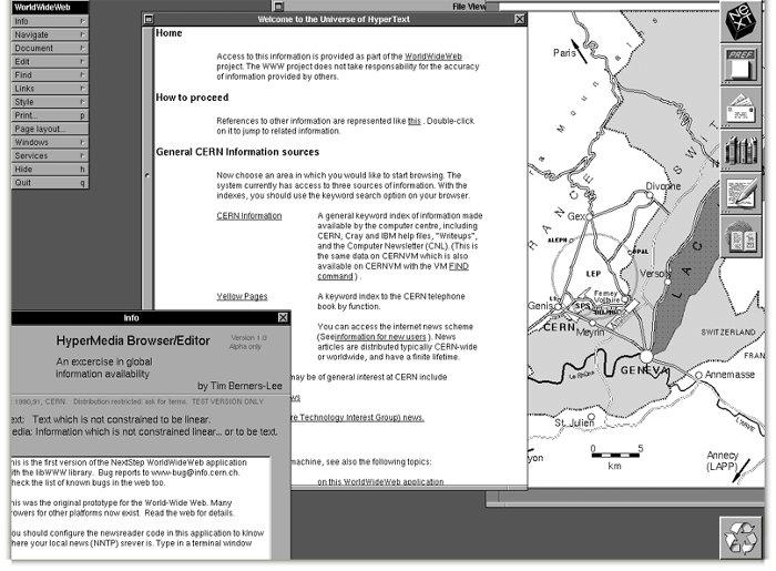 Ngày 20/12/1990, ông Tim Berners-Lee đã tạo ra trang web đầu tiên trên thế giới.
