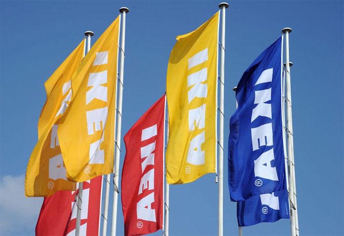 Cái tên IKEA được ghép lại từ những chữ cái đầu tiên của người sáng lập ra công ty.