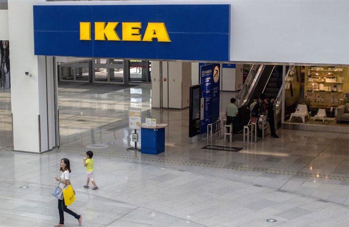 Diện tích trung bình của một cửa hàng IKEA bằng 42 sân tennis.