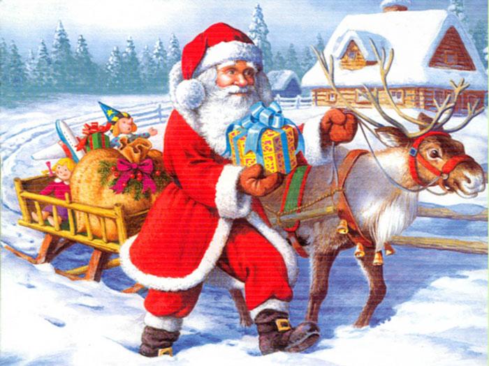 """""""Khái niệm"""" ông già Noel giờ đã lan truyền khắp nơi trên thế giới."""