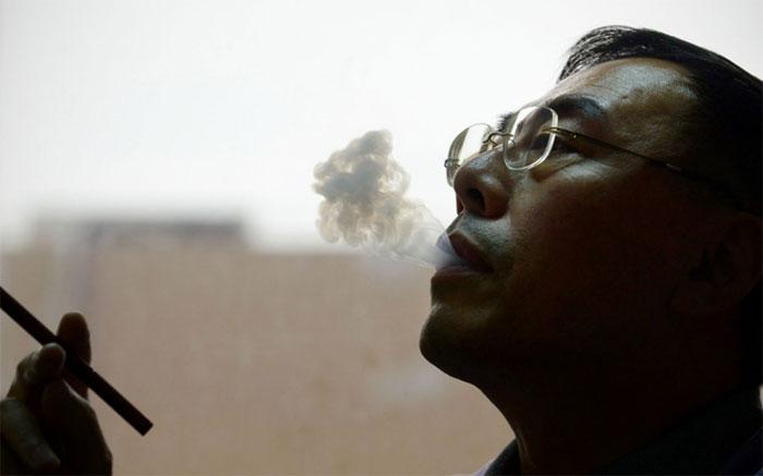 Dược sĩ người Trung Quốc Hon Lik - người phát minh ra thuốc lá điện tử hiện đại.