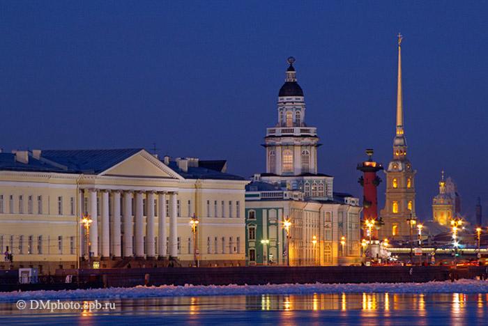 Saint Petersburg được mệnh danh là Venice của phương Bắc