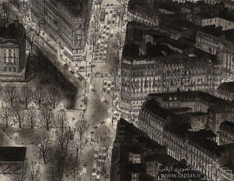 Đại lộ Paris, Pháp về đêm