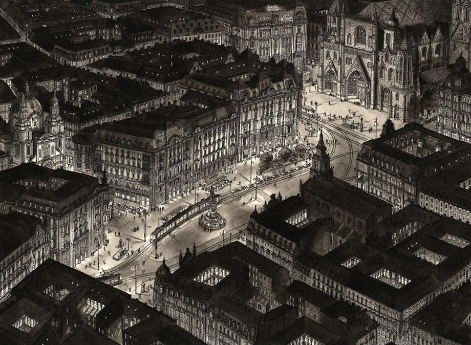 Thủ đô Vienna, Áo tĩnh lặng về đêm.