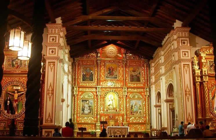 Kiến trúc, trang trí bên trongcủa khu truyền giáo mang lại sự kinh ngạc hơn nhiều