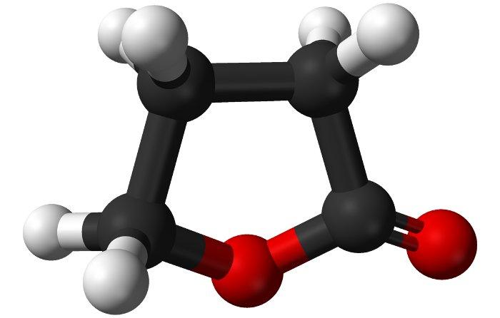 Một đơn phân tử Gamma-Butyrolactone (GBL).