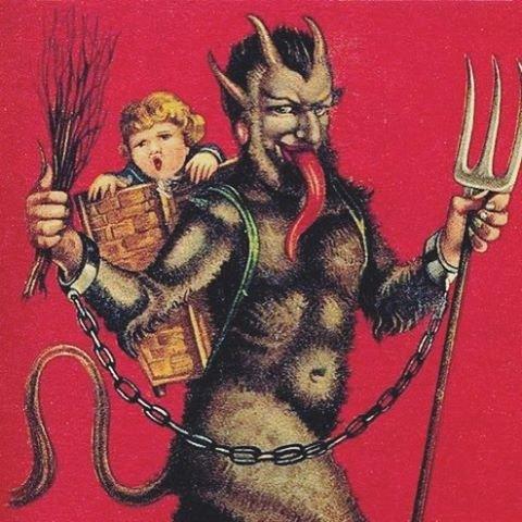 Con quỷ Krampus đáng sợ trong câu chuyện Giáng Sinh ở Úc.