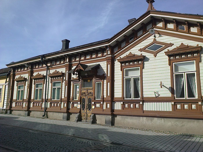 Thành phố cổ Rauma được phát hiện vào năm 1442, là một trong ba thành phố cổ nổi tiếng nhất ở Phần Lan.