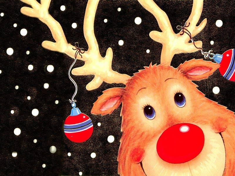 ...nhưng sau đó có thêm chú tuần lộc mũi đỏ Rudolph dẫn đầu...