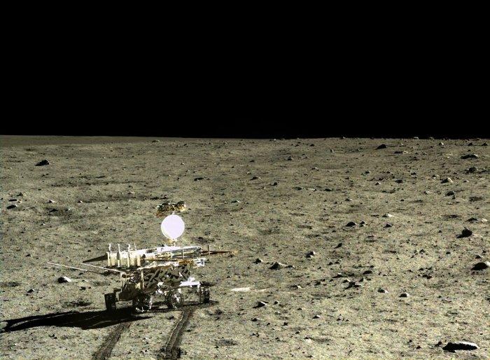 Robot thám hiểm Mặt Trăng của Trung Quốc.