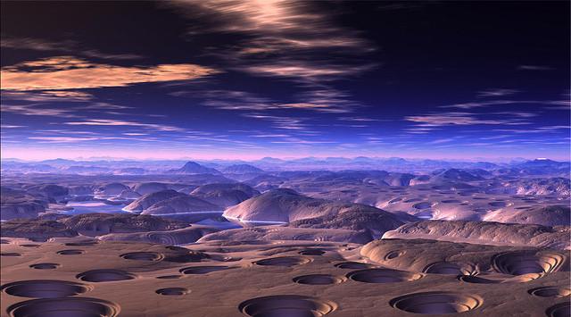 """""""Vùng đất trống"""" là tên gọi khác của sa mạc này."""