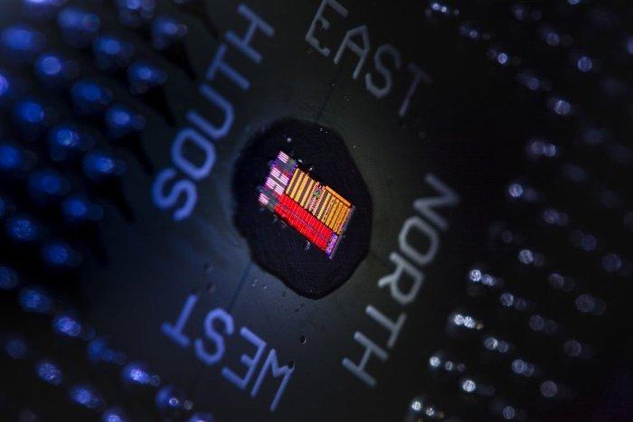 Chip xử lý điện tử.
