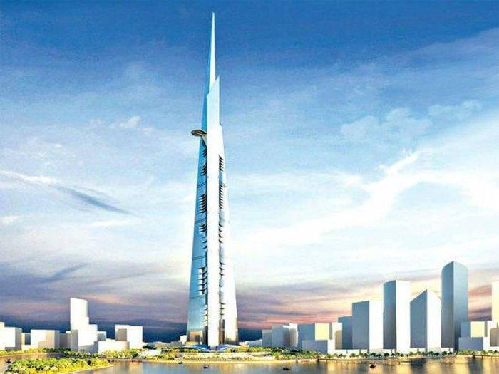 Các giải pháp về thang máy hiện đại của Kone được ứng dụng trong tòa nhà cao nhất thế giới Kingdom Tower.