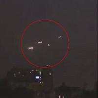 Video: 4 UFO xuất hiện trên bầu trời Chile