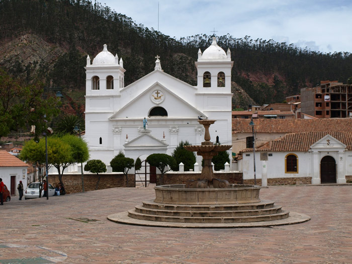 Sucre là thủ đô đầu tiên của Bolivia.