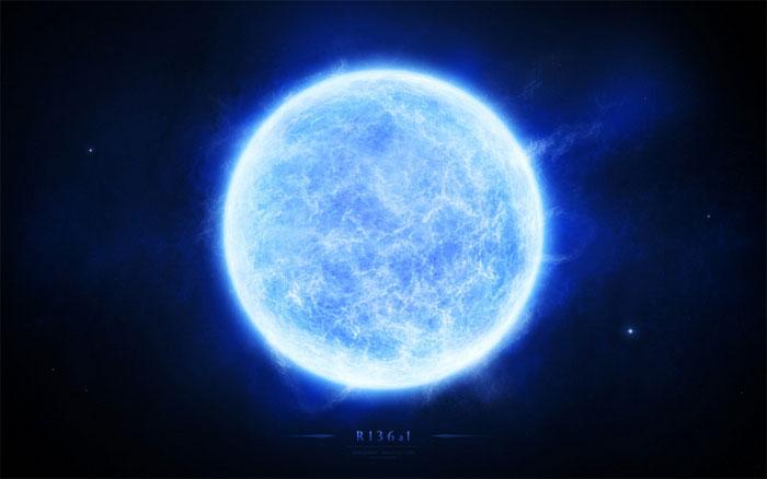 Sao nặng nhất vũ trụ xét theo khối lượng là R136a1.