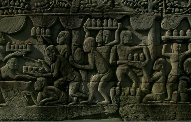 Quần thể Angkor chịu sự ảnh hưởng của nghệ thuật Khmer cổ với một lối kiến trúc đặc sắc, nổi bật các giá trị nghệ thuật Khmer.