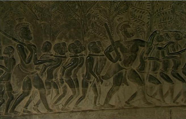 Angkor là thành phố thuộc thời kỳ tiền công nghiệp lớn nhất thế giới với diện tích 1150 dặm vuông.