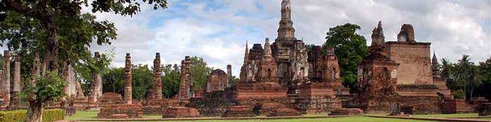 Sukhothai là Vương quốc đầu tiên của người Thái ở đất nước xinh đẹp này.