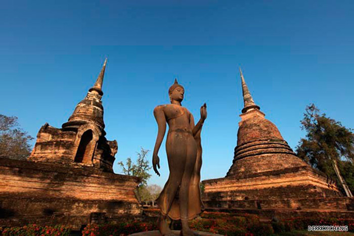 Tổ chức Khoa học, Giáo dục và Văn hóa của Liên hiệp quốc (Unesco) đã công nhận Thành phố lịch sử Sukhothai của Thái Lan là Di sản Văn hóa thế giới năm 1991.