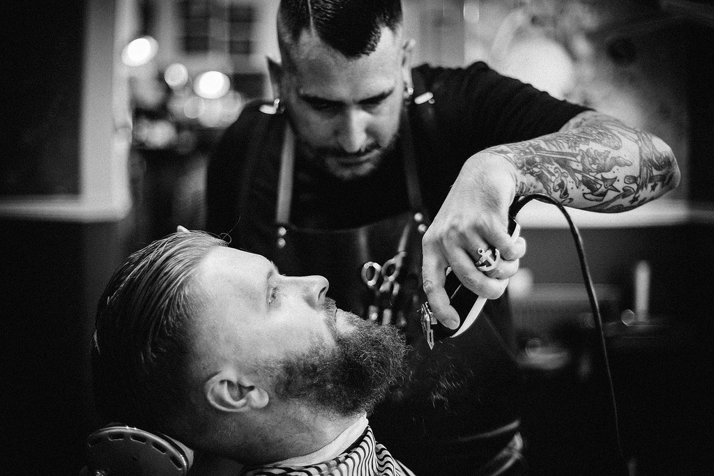 The Barber chụp bởi Martin Boden Fotografie